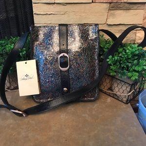 Patricia Nash Kimono Tapestry crossbody bag